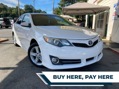 2012 Toyota Camry for sale at Automan Auto Sales, LLC in Norcross GA