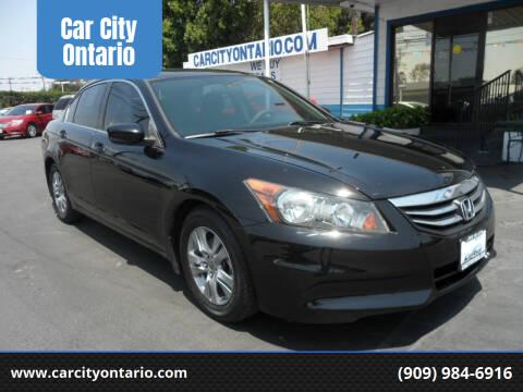 2012 Honda Accord for sale at Car City Ontario in Ontario CA