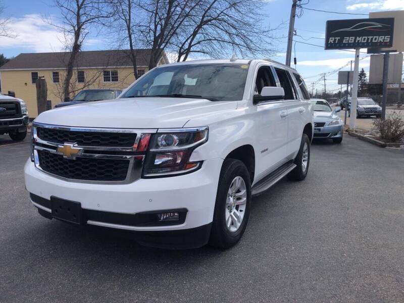 2015 Chevrolet Tahoe for sale at RT28 Motors in North Reading MA