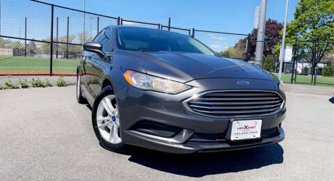 2018 Ford Fusion for sale at Maxima Auto Sales in Malden MA