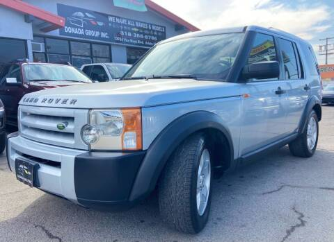 2006 Land Rover LR3 for sale at Donada  Group Inc in Arleta CA