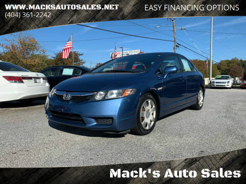 2009 Honda Civic for sale at Mack's Auto Sales in Forest Park GA