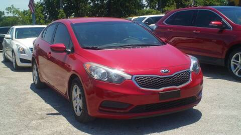 2016 Kia Forte for sale at Global Vehicles,Inc in Irving TX