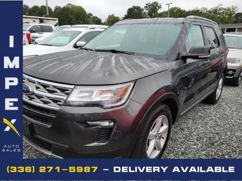 2018 Ford Explorer for sale at Impex Auto Sales in Greensboro NC