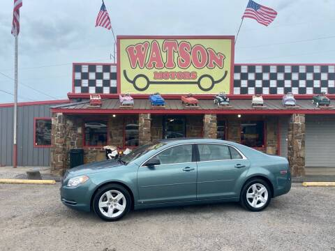 2009 Chevrolet Malibu for sale at Watson Motors in Poteau OK