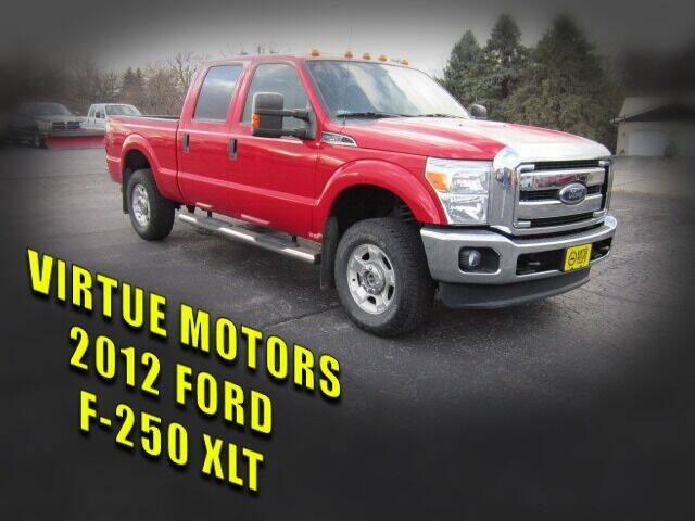 2012 Ford F-250 Super Duty for sale at Virtue Motors in Darlington WI