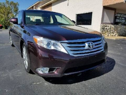 2011 Toyota Avalon for sale at CAR-RIGHT AUTO SALES INC in Naples FL