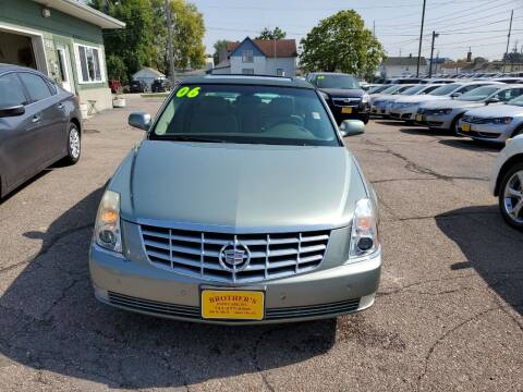 2006 Cadillac DTS for sale at Brothers Used Cars Inc in Sioux City IA