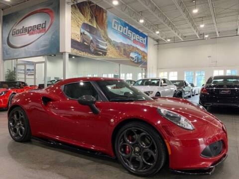 2015 Alfa Romeo 4C for sale at Godspeed Motors in Charlotte NC