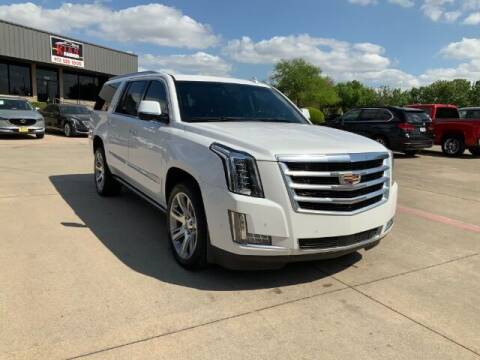 2018 Cadillac Escalade ESV for sale at KIAN MOTORS INC in Plano TX