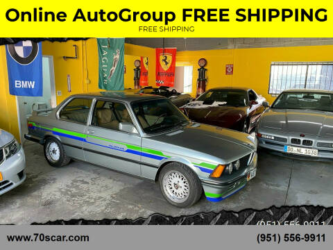 1983 BMW 3 Series for sale at Online AutoGroup FREE SHIPPING in Riverside CA