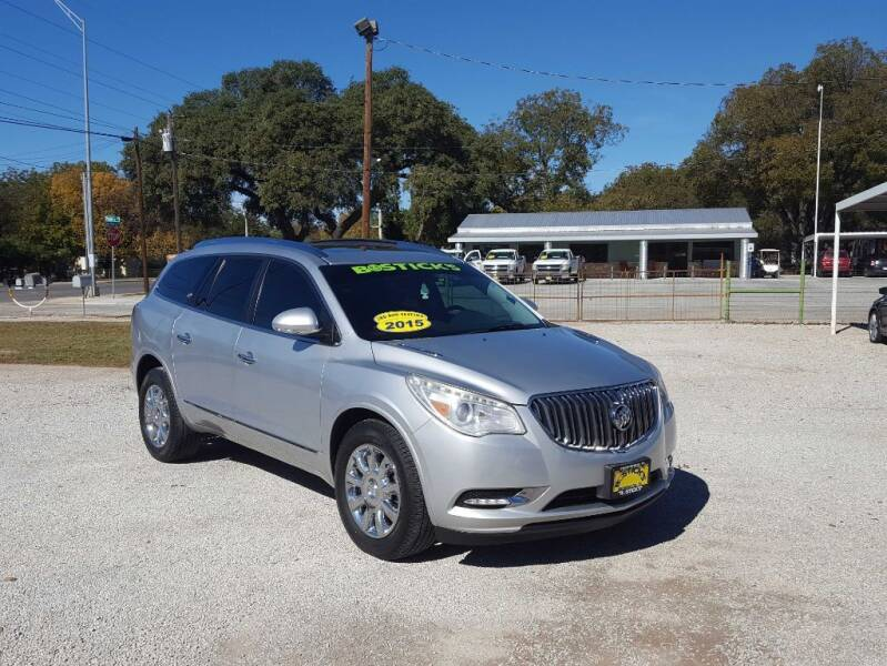 2015 Buick Enclave for sale at Bostick's Auto & Truck Sales in Brownwood TX
