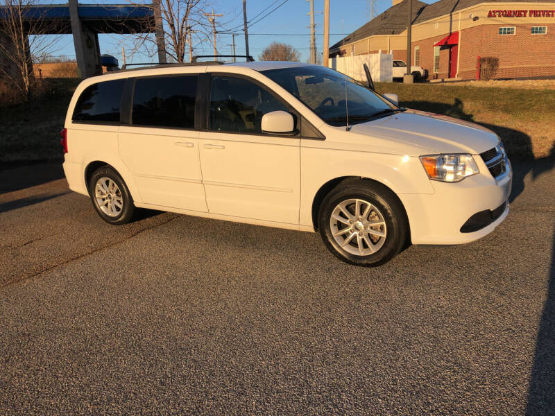 2016 Dodge Grand Caravan for sale at Bill Henderson Auto Group Inc in Statesville NC