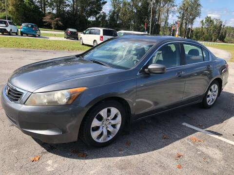 2008 Honda Accord for sale at IH Auto Sales in Jacksonville NC