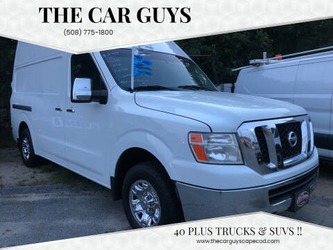 2014 Nissan NV Cargo for sale at The Car Guys in Hyannis MA
