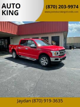 2018 Ford F-150 for sale at AUTO KING in Jonesboro AR