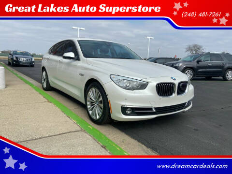 2015 BMW 5 Series for sale at Great Lakes Auto Superstore in Pontiac MI