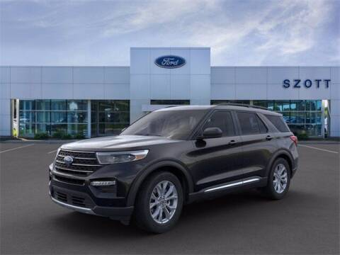 2021 Ford Explorer for sale at Szott Ford in Holly MI