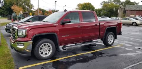 2017 GMC Sierra 1500 for sale at SINDIC MOTORCARS INC in Muskego WI