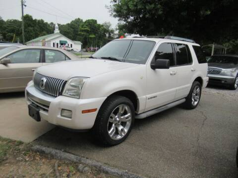 2010 Mercury Mountaineer for sale at Dallas Auto Mart in Dallas GA