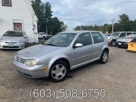 2001 Volkswagen GTI for sale at J & E AUTOMALL in Pelham NH
