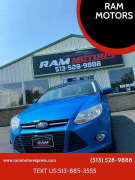 2012 Ford Focus for sale at RAM MOTORS in Cincinnati OH