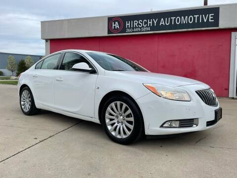 2011 Buick Regal for sale at Hirschy Automotive in Fort Wayne IN