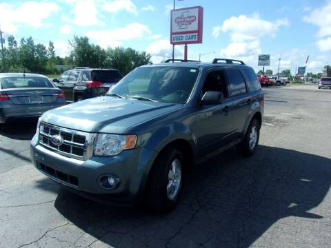 2011 Ford Escape for sale at DAVE KNAPP USED CARS in Lapeer MI