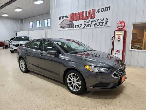2017 Ford Fusion for sale at Kinsellas Auto Sales in Rochester MN