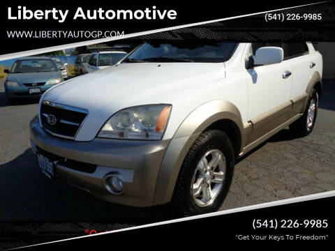 2006 Kia Sorento for sale at Liberty Automotive in Grants Pass OR