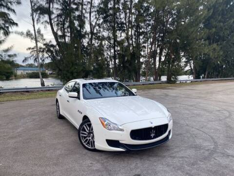 2015 Maserati Quattroporte for sale at Exclusive Impex Inc in Davie FL