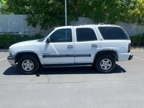 2001 Chevrolet Tahoe for sale at BITTON'S AUTO SALES in Ogden UT