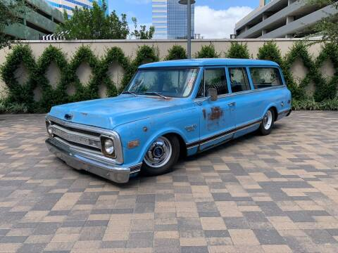 1969 Chevrolet Suburban - Turbocharged Vortec for sale at ROGERS MOTORCARS in Houston TX