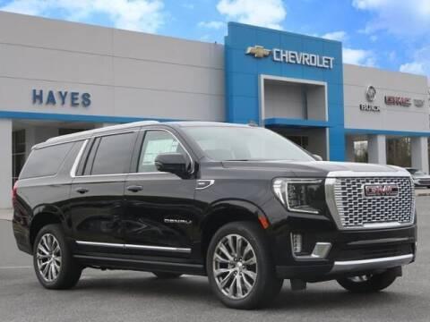 2021 GMC Yukon XL for sale at HAYES CHEVROLET Buick GMC Cadillac Inc in Alto GA