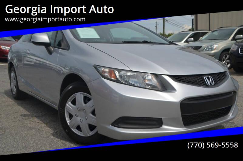 2013 Honda Civic for sale at Georgia Import Auto in Alpharetta GA