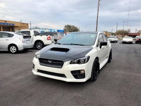 2017 Subaru WRX for sale at Image Auto Sales in Dallas TX