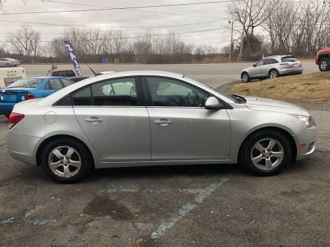 2013 Chevrolet Cruze for sale at KMK Motors in Latham NY