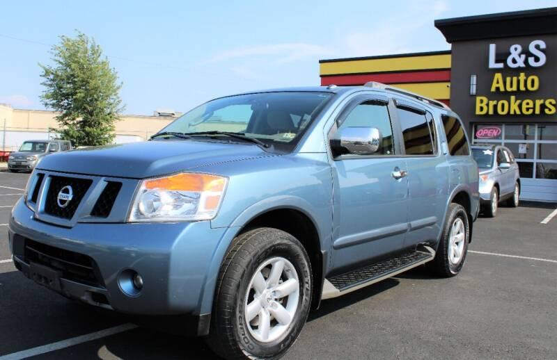 2011 Nissan Armada for sale at L & S AUTO BROKERS in Fredericksburg VA
