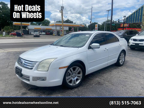 2007 Ford Fusion for sale at Hot Deals On Wheels in Tampa FL