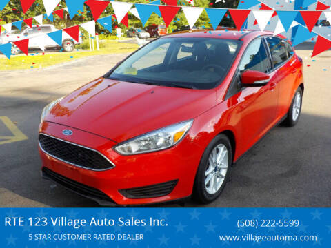 2016 Ford Focus for sale at RTE 123 Village Auto Sales Inc. in Attleboro MA