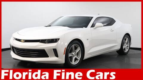 2017 Chevrolet Camaro for sale at Florida Fine Cars - West Palm Beach in West Palm Beach FL