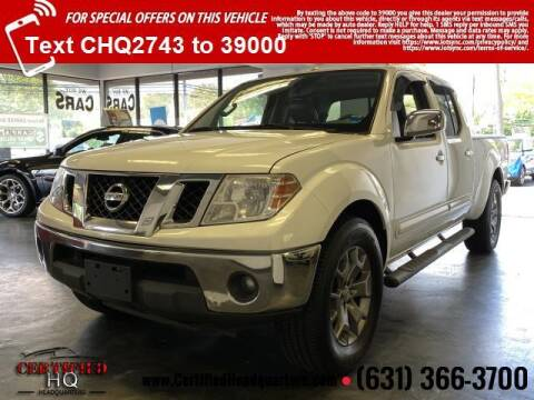2015 Nissan Frontier for sale at CERTIFIED HEADQUARTERS in Saint James NY