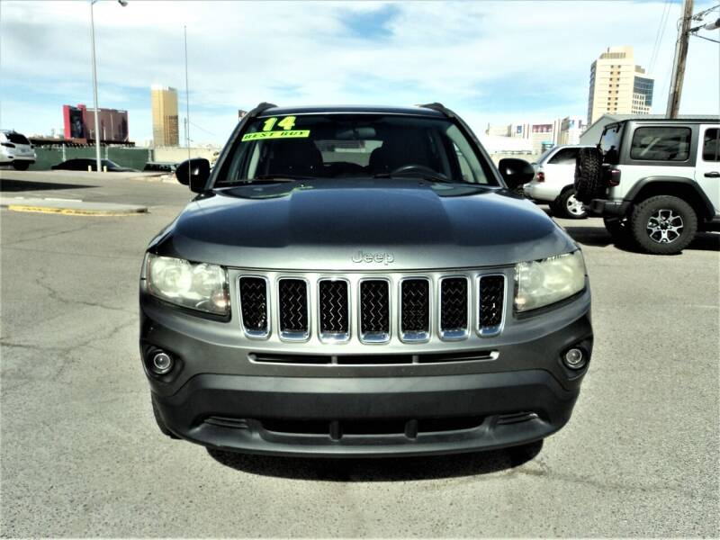 2014 Jeep Compass for sale at DESERT AUTO TRADER in Las Vegas NV