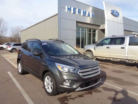 2018 Ford Escape for sale at Herman Motors in Luverne MN
