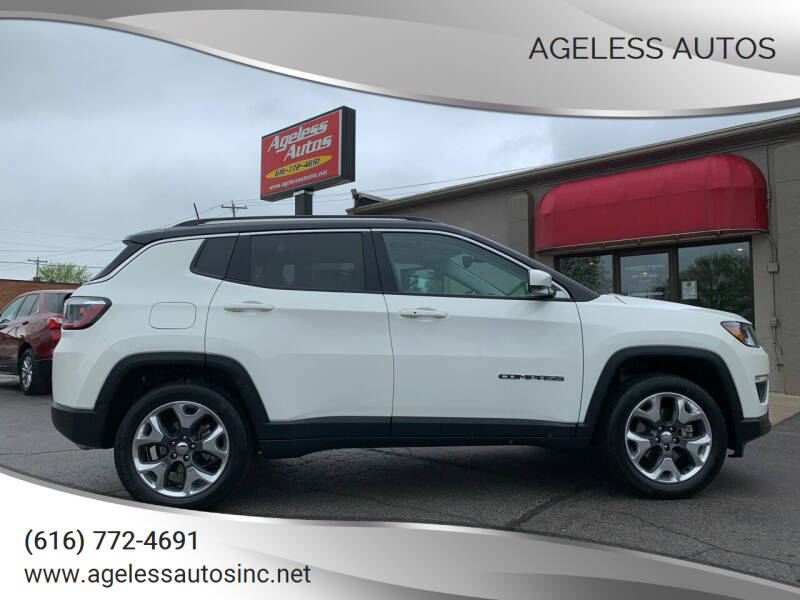 2018 Jeep Compass for sale at Ageless Autos in Zeeland MI