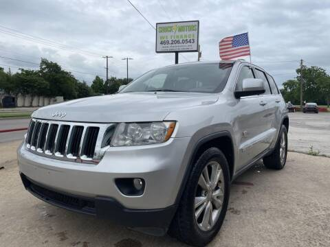 2011 Jeep Grand Cherokee for sale at Shock Motors in Garland TX