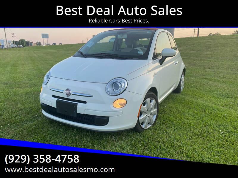 2012 FIAT 500c for sale at Best Deal Auto Sales in Saint Charles MO