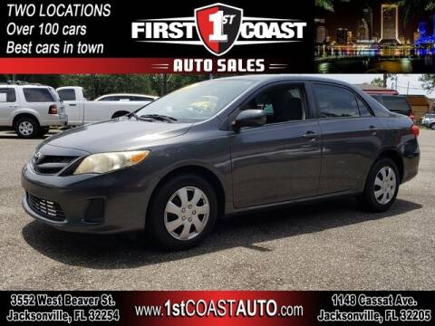 2011 Toyota Corolla for sale at 1st Coast Auto -Cassat Avenue in Jacksonville FL