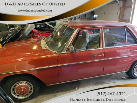 1976 Mercedes-Benz 300-Class for sale at D & D Auto Sales Of Onsted in Onsted   Brooklyn MI