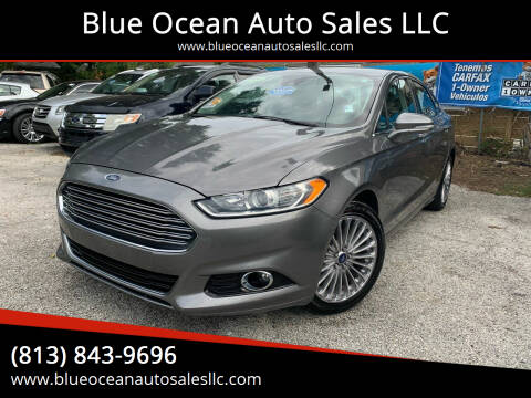 2014 Ford Fusion for sale at Blue Ocean Auto Sales LLC in Tampa FL